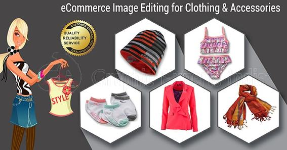 Clothing and Accessories image editing