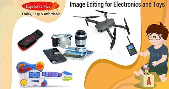 Electronics and Toys image editing
