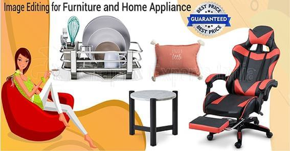Furniture and Home Appliance photo editing