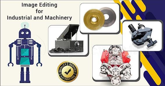 Industrial Equipment and Machinery image editing
