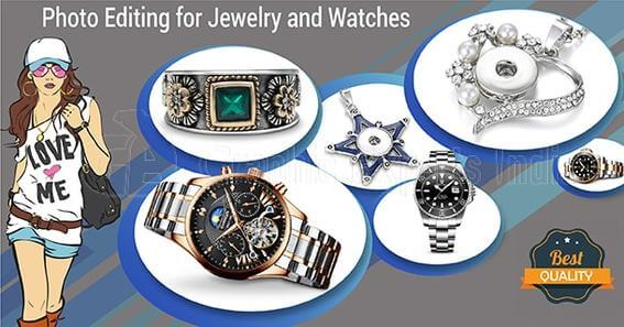 Jewelry and Watches image editing