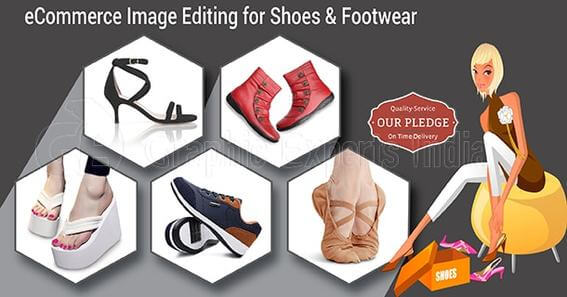 Shoes & Footwear image editing