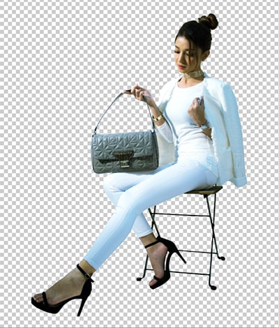 Fixing Background for Fashion Industries after