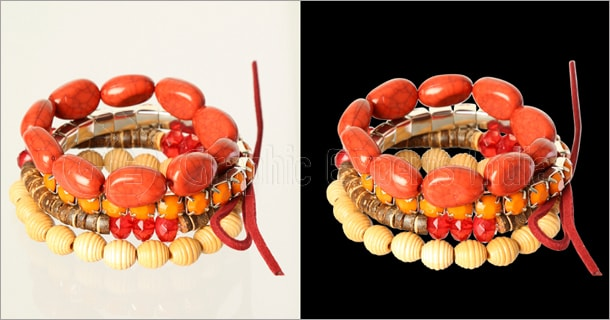 Jewelry Image Clipping Path Service