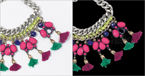 Jewelry Photo Clipping Path Service