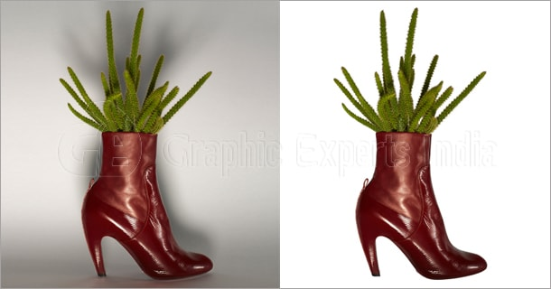 Shoe Image Clipping Path Service