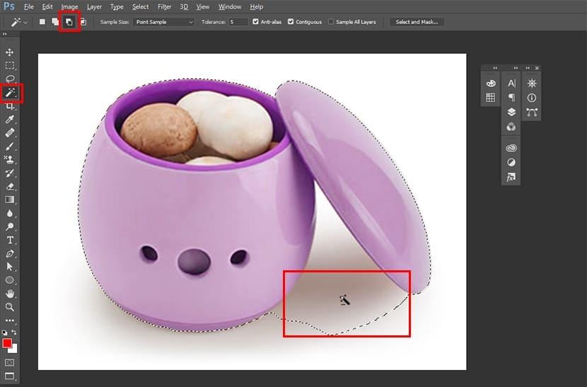 GEI Image Selection Using Photoshop