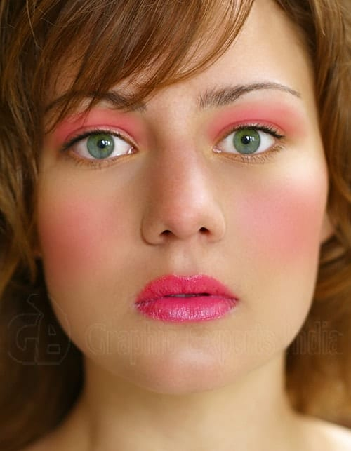 Glamour Retouching (Digital Makeup Creation) After