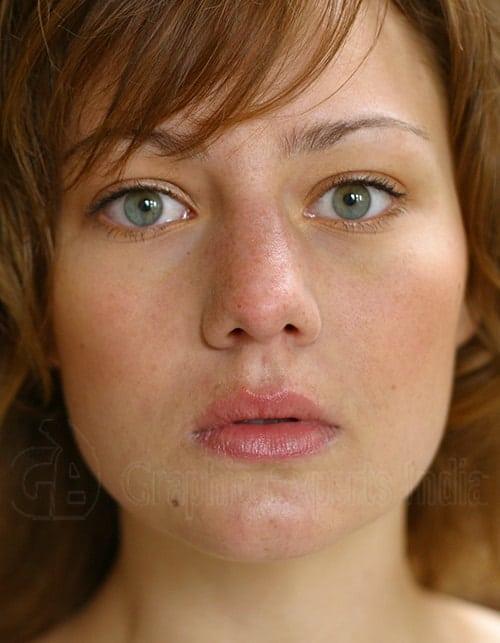 Glamour Retouching (Digital Makeup Creation) Before
