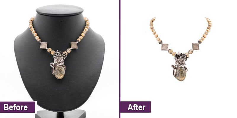 Jewelry Product Photo Editing and Editing Example