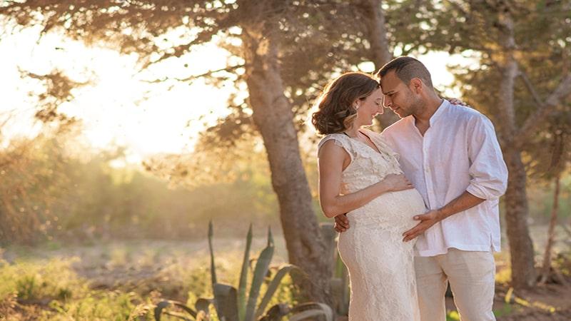 Romantic couple's photos
