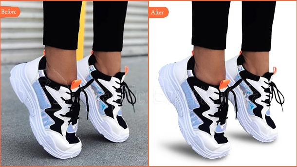 Shoe Photo Editing Services