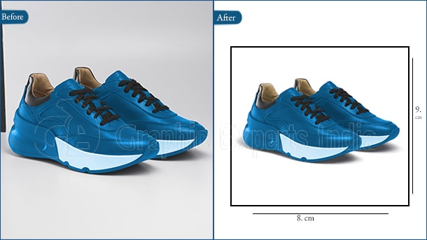 Shoe cropping and resizing service