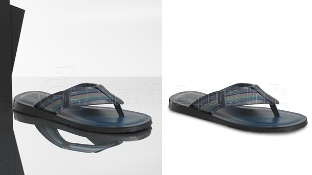 shoe photo editing for eCommerce