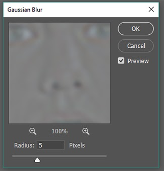 Attach one-third of the High Pass radius to the Gaussian Blur.