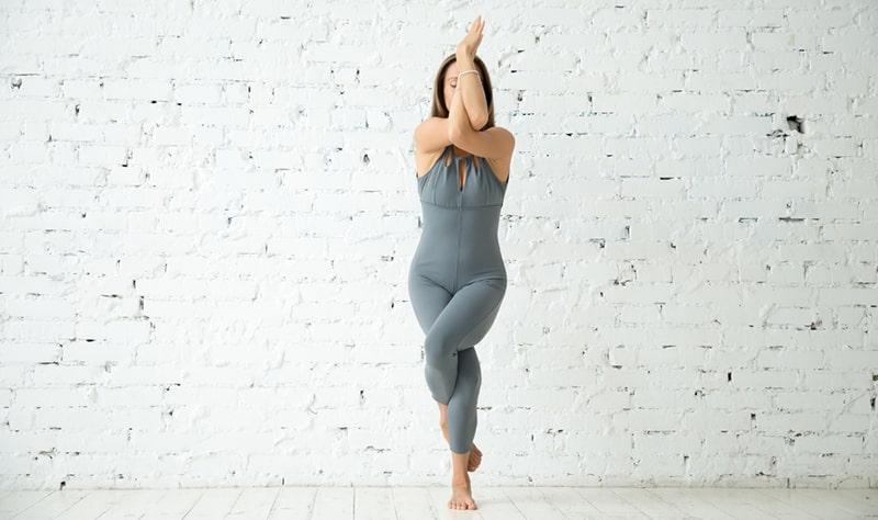 Yoga Photography Ideas -Eagle Pose