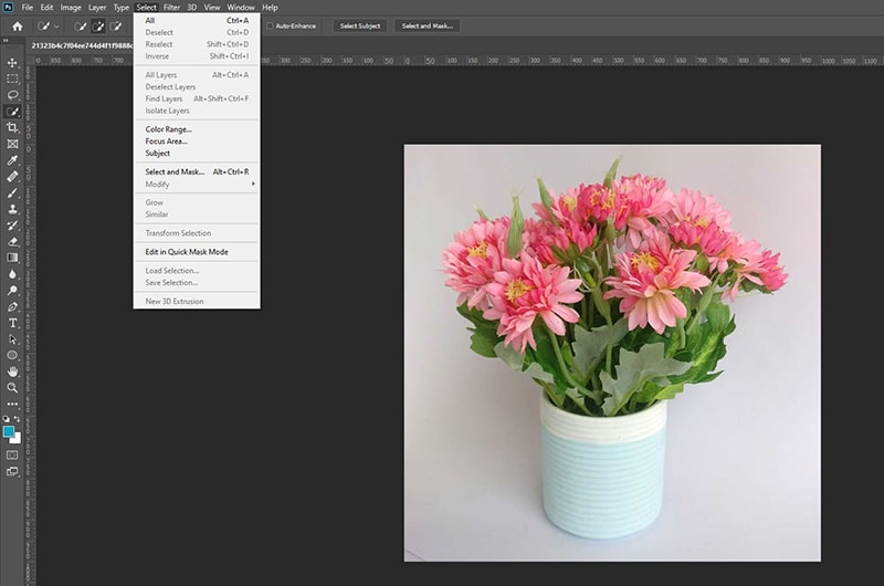 Adding Image to Existing Layer in Photoshop