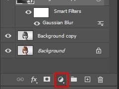 Adding Level to Adjust Layer