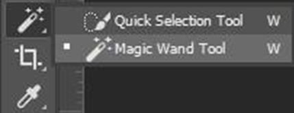 Press on the Magic Wand Option