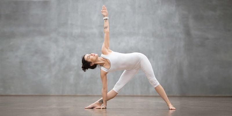 Triangle Yoga Photography
