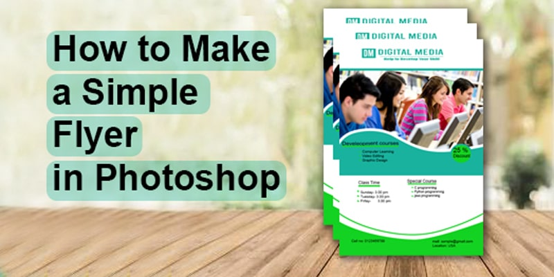 How to Make a Simple Flyer in Photoshop