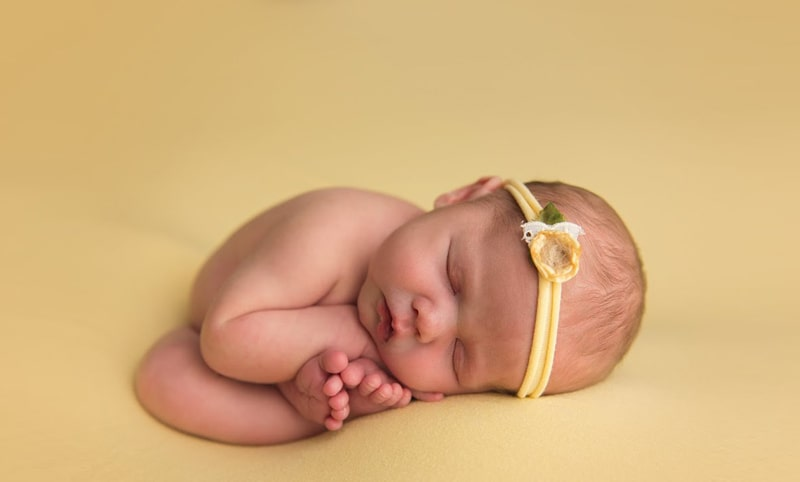 Womb Pose for Photography