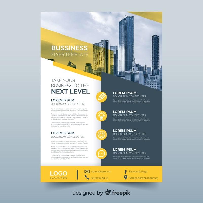 business flyer idea