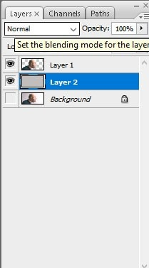create a new layer below