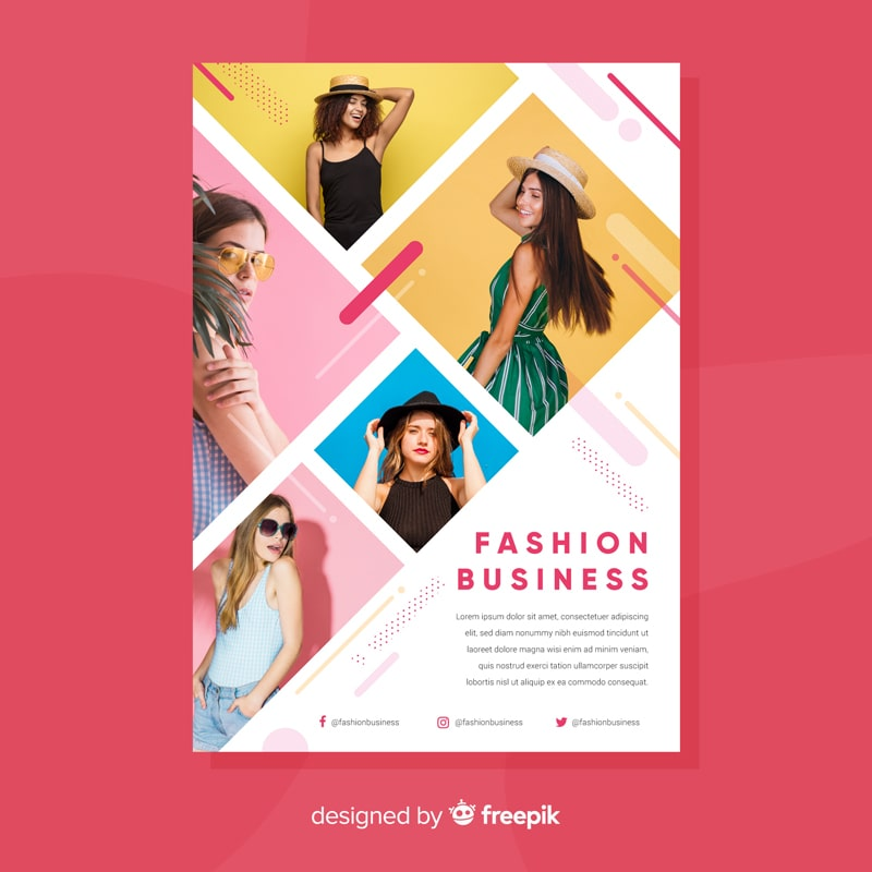 flyer concepts fashion business