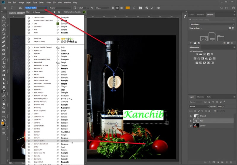 Polishing Up Photography Watermark Text