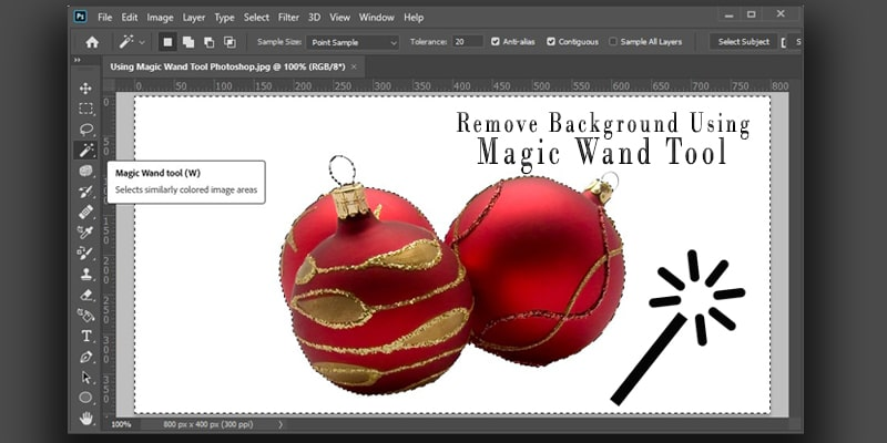 Remove Background Using Magic Wand Tool Photoshop – A Step by Step Tutorial