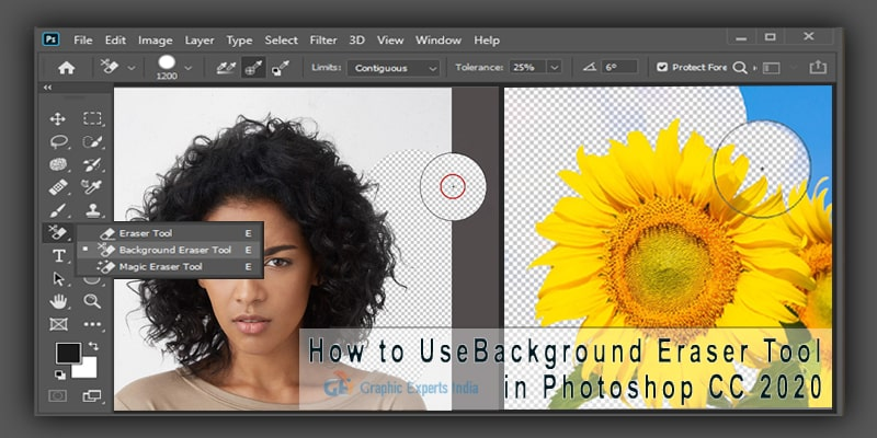 How to Use Background Eraser Tool in Photoshop CC 2020