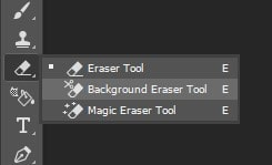 Background Eraser Tool Selection