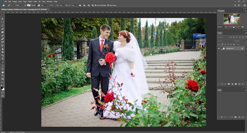Photoshop crop tool tutorial