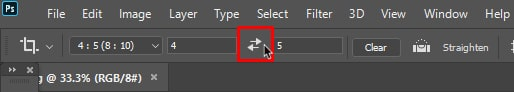 aspect ratio needs swap