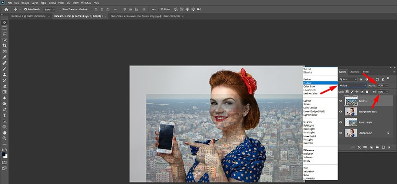 Blend Layers in Photoshop