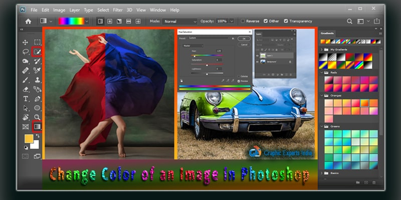Change Color of Image in Photoshop CC 2020 –07 Tutorials