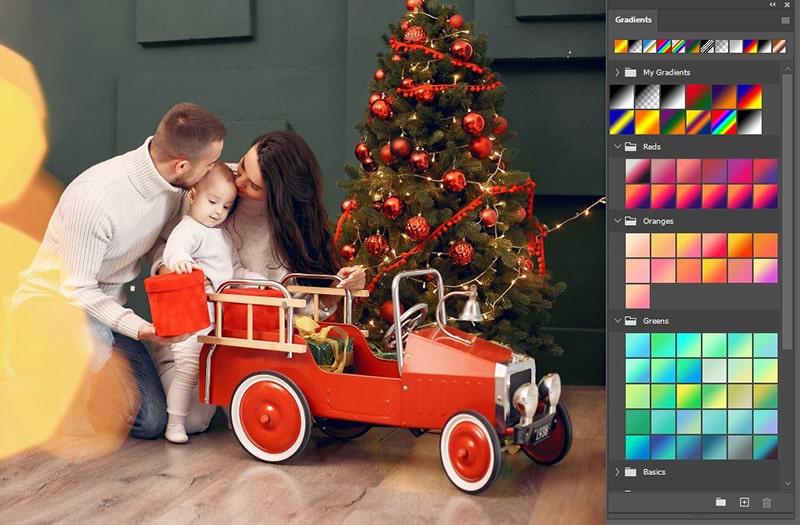 Gradient Panel in Photoshop CC 2020