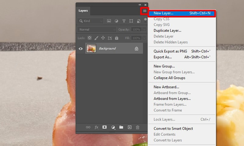 How to Add New Layers in Photoshop