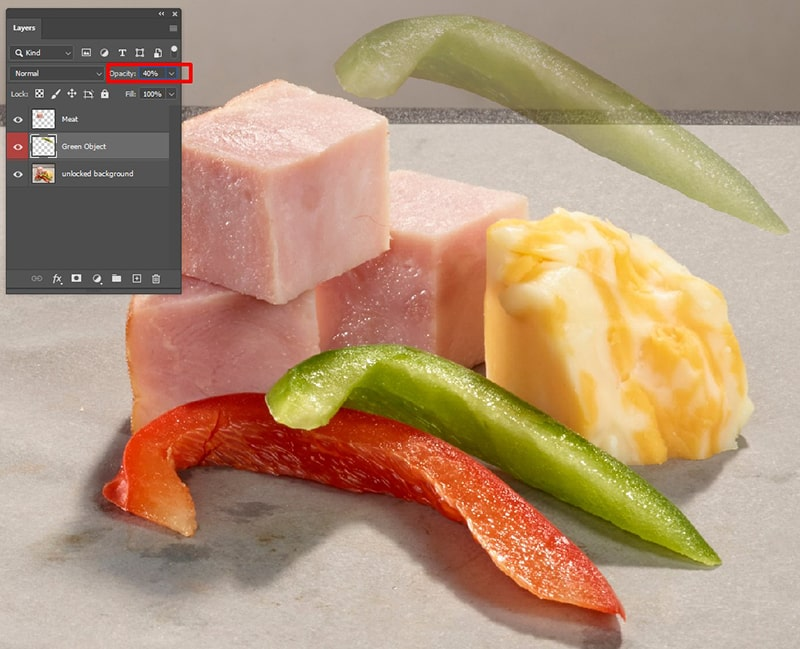 How to Adjust Layer Opacity