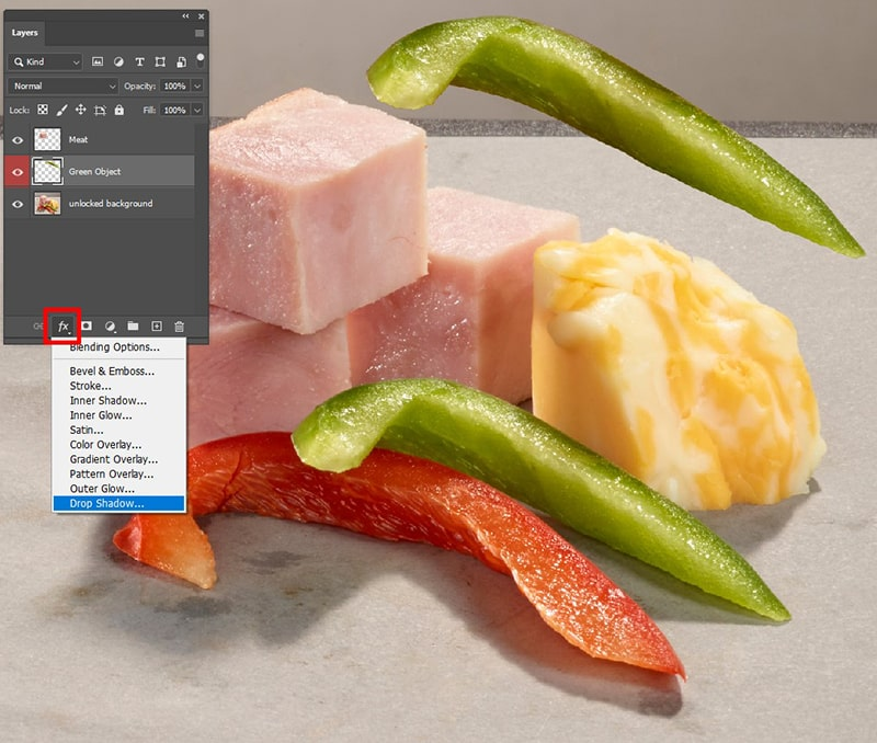 How to Apply Layer Style