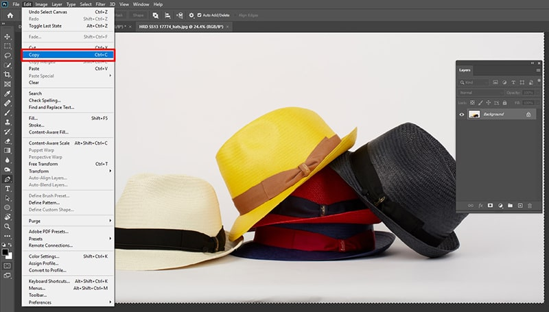 How to Copy Layer in Photoshop