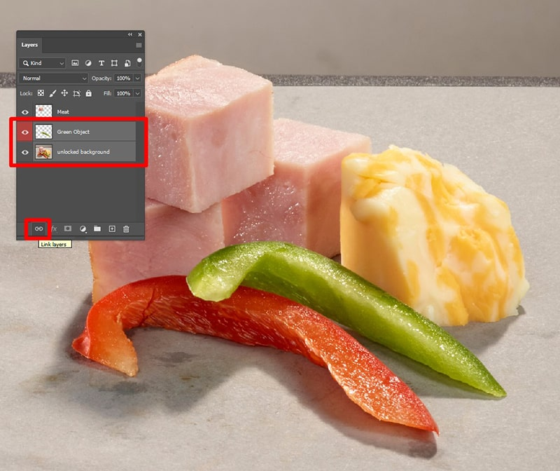 How to Link Layers in Photoshop