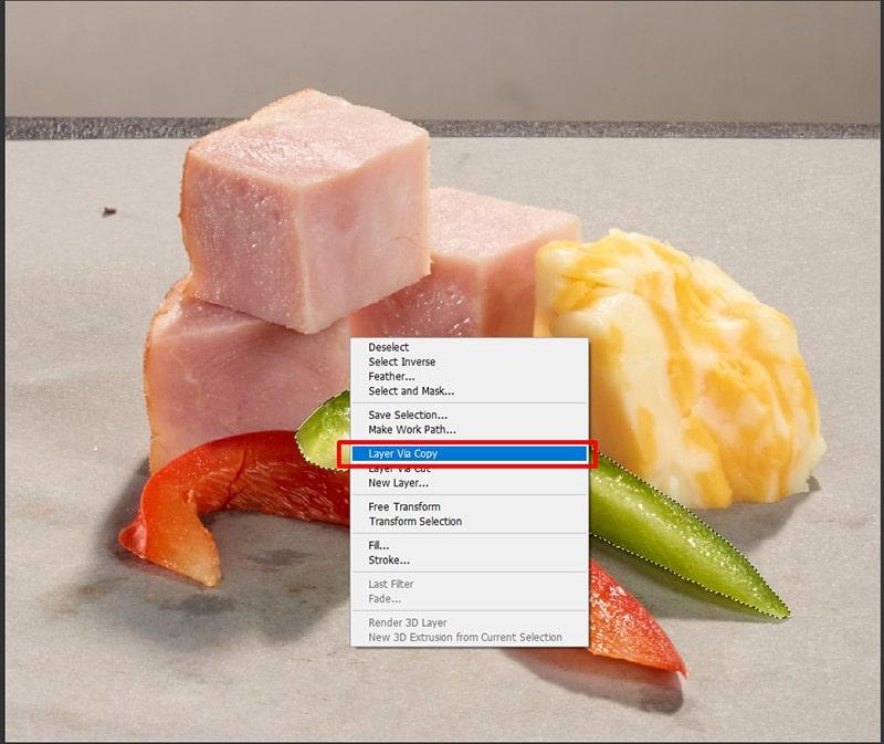 Select Layer via Copy