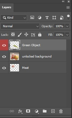 using color code to a layer