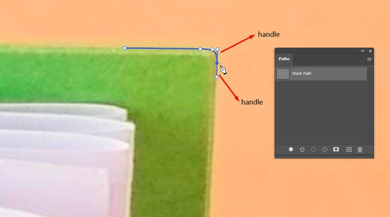 Creating a Curved Path Segment With The Pen Tool