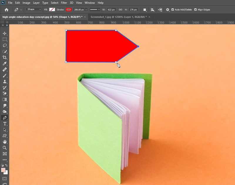 How to Create a Shape Using the Photoshop Pen Tool