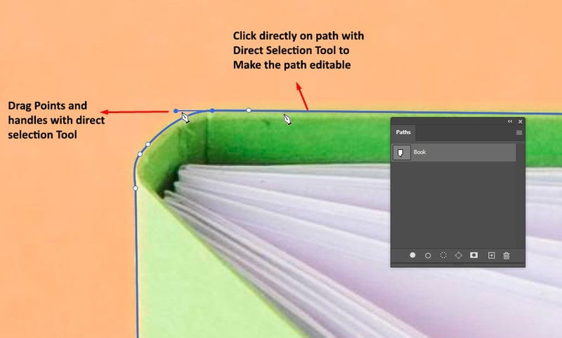 How to Modify Existing Points and Curves Along a Path