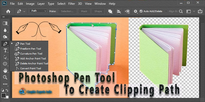 Photoshop Pen Tool Tutorial | Create a Clipping Path