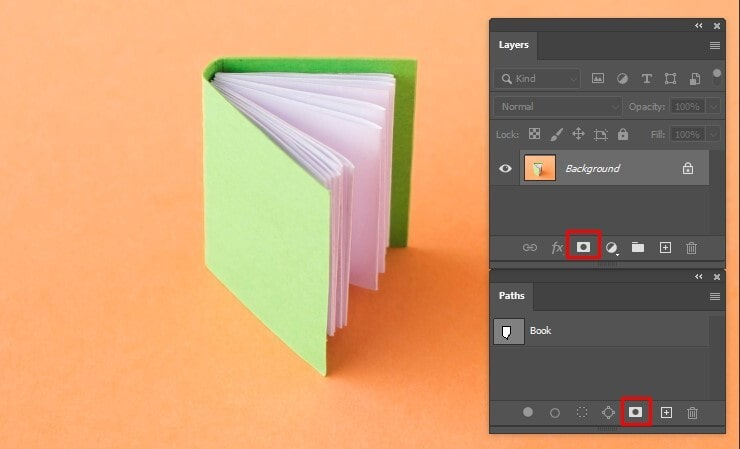 Removing a Background by Creating a Layer Mask